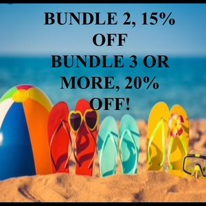 Bundle to Save 15% or 20%!